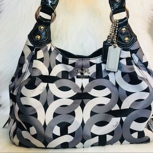 COACH Maggie OP Chainlink Shoulder Bag